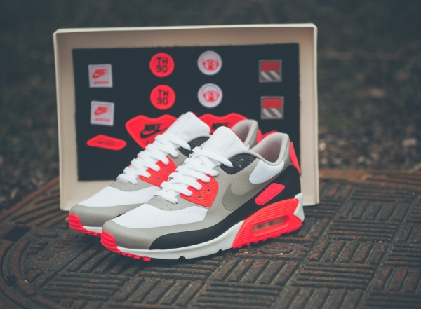 Nike Air Max 90 Infrared 'Patch' (Air Max Day 2015)