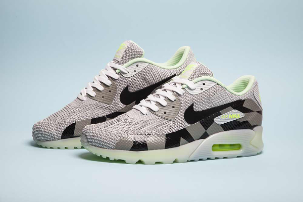 Nike Air Max 90 Jacquard Ice Mist Grey (2)