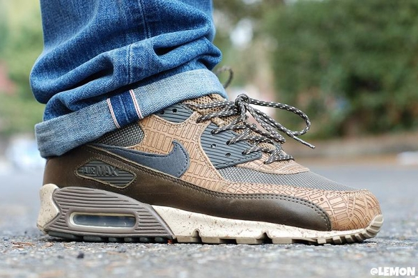Nike Air Max 90 Navigation - Lemon