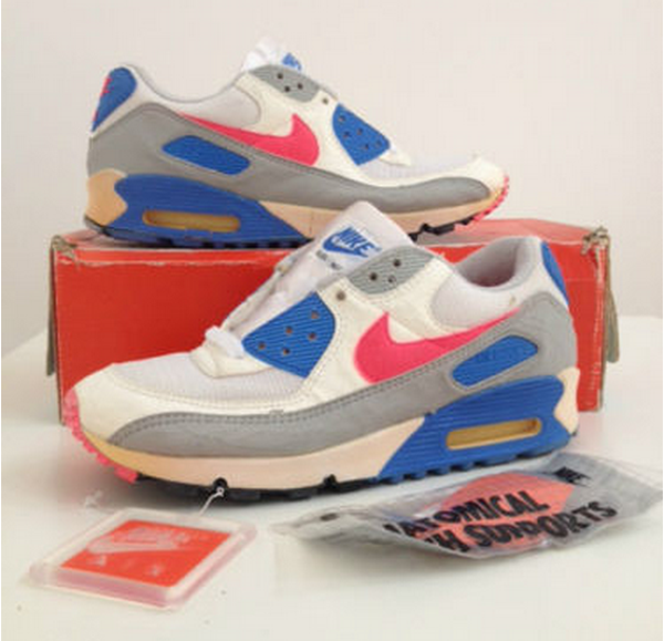 Nike Air Max 90 OG Hot Coral Crystal 1990 (made in korea) (1)