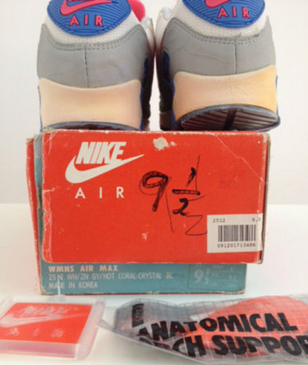 Nike Air Max 90 OG Hot Coral Crystal 1990 (made in korea) (2)