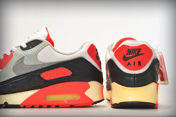 super popular 3f4ec d6eb2 Nike Air Max 90 OG Infrared (1990) made in korea