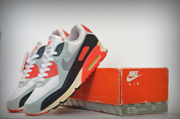 Nike Air Max 90 OG Infrared (1990) made in korea-3