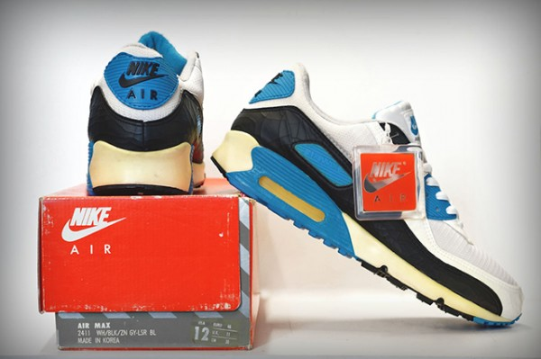 Nike Air Max 90 OG 'Laser Blue' 1990 (made in korea) (2)