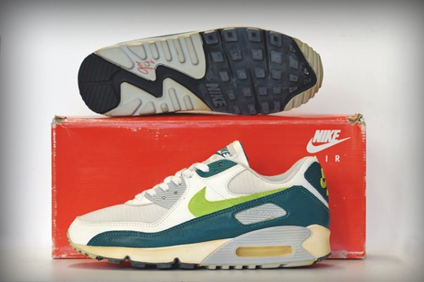 Nike Air Max 90 OG 'Spruce Hot Lime'  (1)