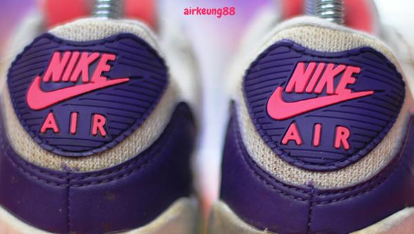 Nike Air Max 90 OG White Eggplant Flare zen grey (1991)