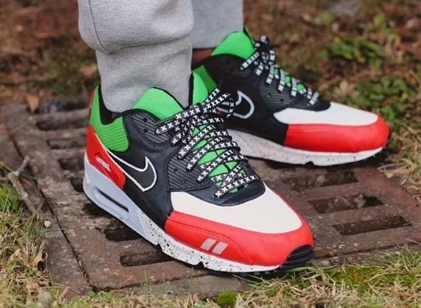 Nike Air Max 90 Patta - Sekou Kaba (customisée)