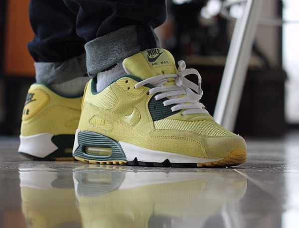 Nike Air Max 90 Powerwall Lemonade - Alixpye