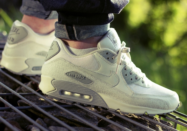 Nike Air Max 90 Powerwall White Neutral Grey -  Daniel_san58