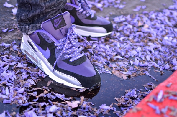 Nike Air Max 90 Purple Silver -  Aeropooch (3)