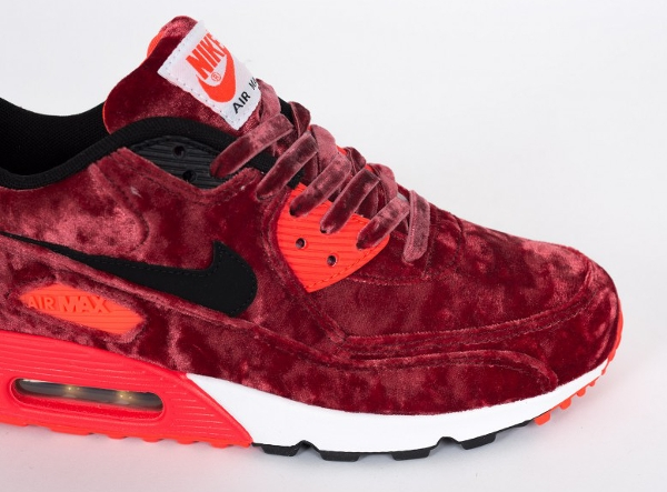 Nike Air Max 90 Red Velvet (bordeaux) Infrared 25eme anniversaire (6)
