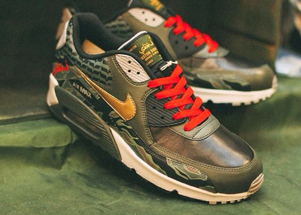 Nike Air Max 90 Sbtg Tiger Camo - Mr Sabotage ((customisée))