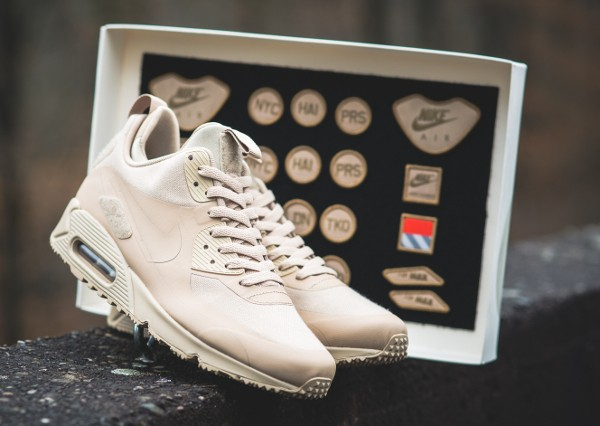 new product 07985 c37d7 ... coupon code for nike air max 90 sneakerboot patch sand sable 8 80cec  e72d5