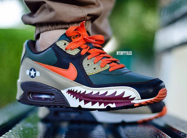 Nike Air Max 90 Warhawk - Myemptybliss-1