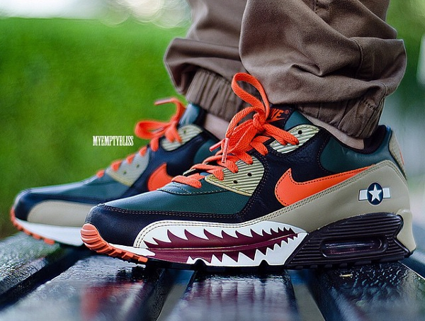 Nike Air Max 90 Warhawk - Myemptybliss