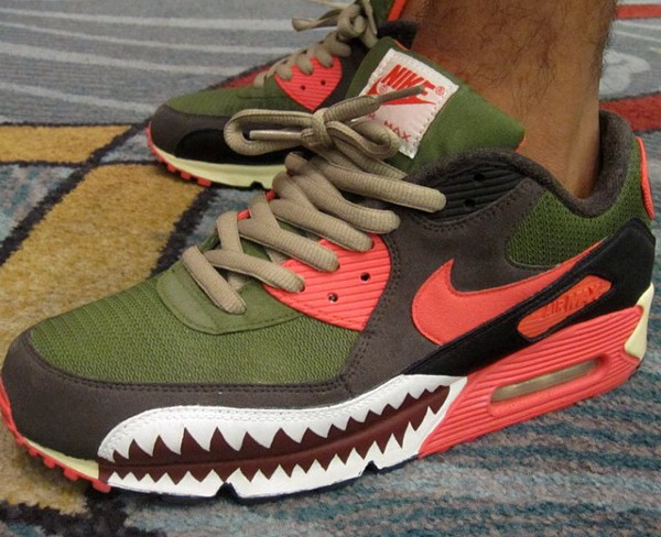Nike Air Max 90 Warkhawk (customisée) - Streetlab