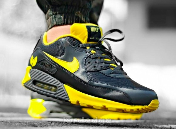 Nike Air Max 90 Wu Tang 36 Chambers - Lordedge-1 (customisée)
