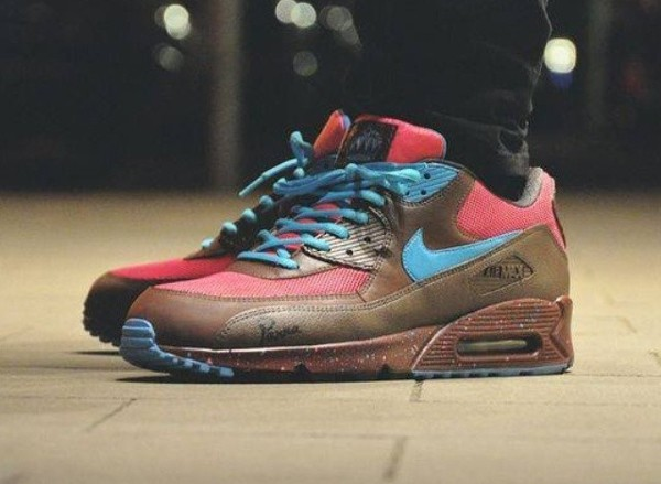Nike Air Max 90 (customisée) Amsterdam - Aka_angga-1