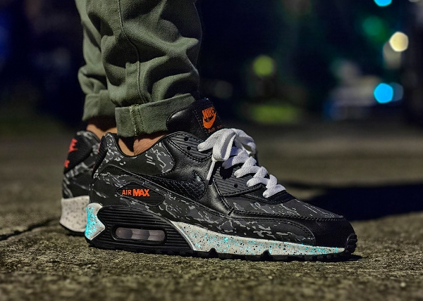 Nike Air Max 90 x Atmos Tiger Camo - Msgt16