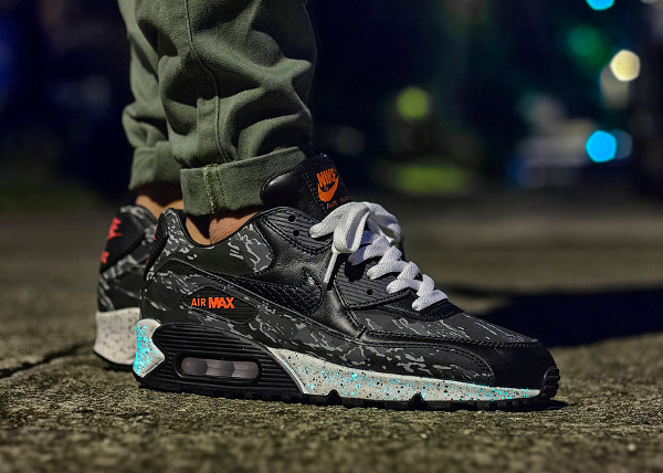 9a268c78065b3 Nike Air Max 90 x Atmos Tiger Camo - Msgt16. B comme Air Max 90 Bacon