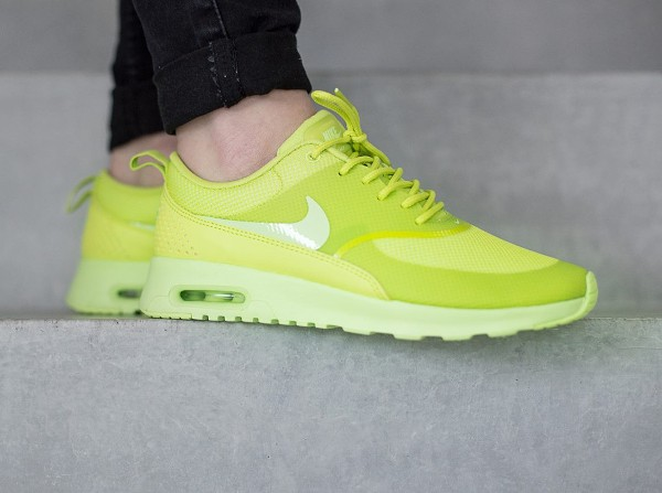 Nike Air Max Thea 'Cyber Liquid Lime' (vert citron) (4)