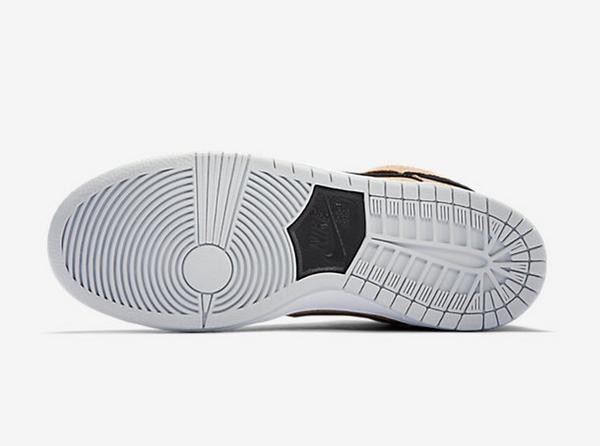 Nike Dunk High SB Black/Hazelnut (1)
