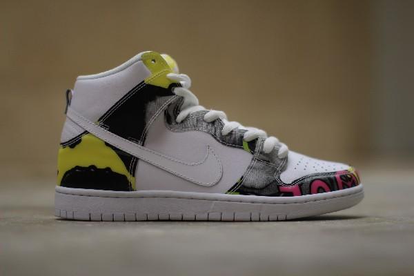 Nike Dunk High SB De La Soul (3 Feet High and Rising) (2)