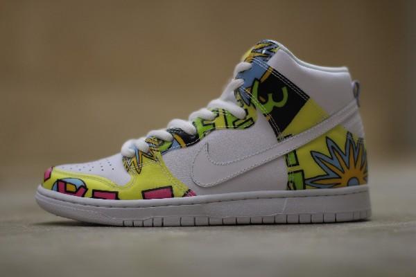Nike Dunk High SB De La Soul (3 Feet High and Rising) (3)