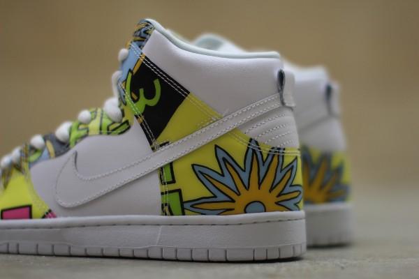 Nike Dunk High SB De La Soul (3 Feet High and Rising) (6)
