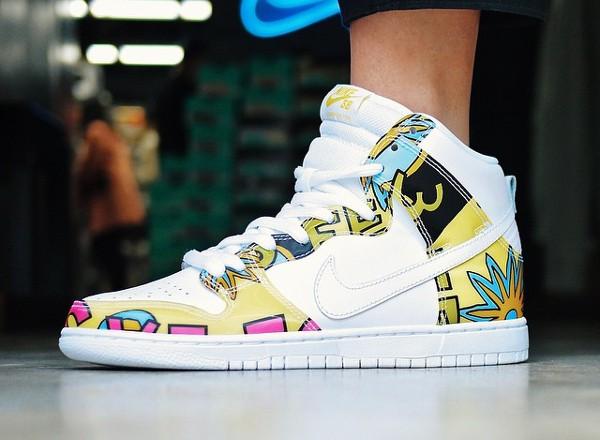 Nike Dunk High SB De La Soul (3 Feet High and Rising) (8)