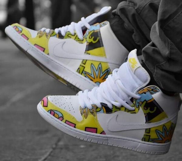 Nike Dunk High SB De La Soul (3 Feet High and Rising) (9)