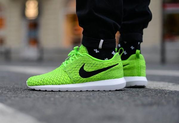 magasin d'usine d9dd3 ec036 Nike Flyknit Roshe Run 'Volt/Black' : où l'acheter ?