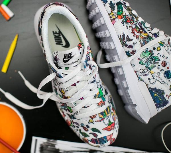 Nike Internationalist White Clear Black QS (4)