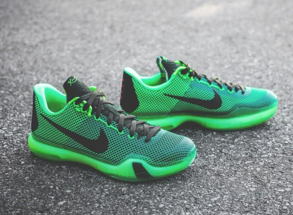 Nike kobe x 39 vino 39 poison green o l 39 acheter for Acheter poison