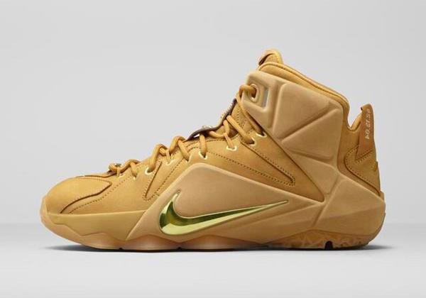 Nike Lebron 12 Wheat
