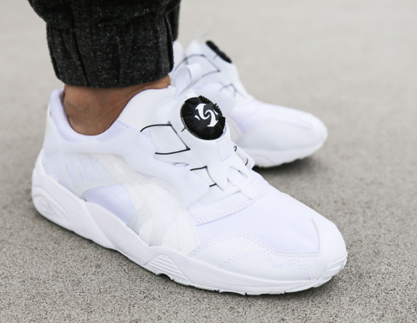 puma disc whisper blanche