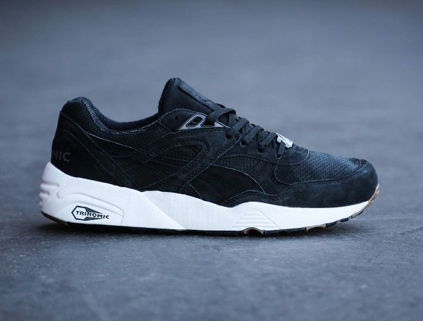 Puma R698 Perforated Black Whisper White (3)