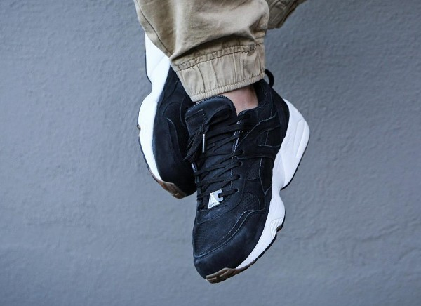 Puma R698 Perforated Black Whisper White (6)
