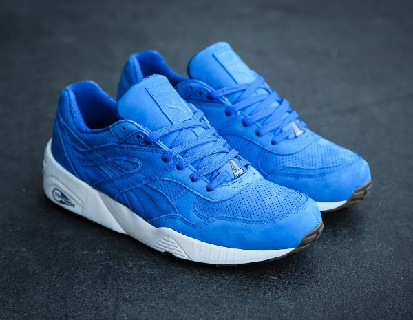 Puma R698 Perforated Strong Blue Whisper White (1)