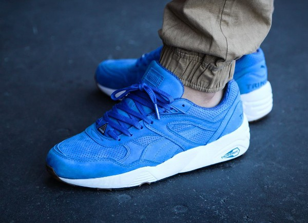 Puma R698 Perforated Strong Blue Whisper White (2)