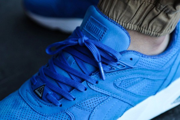 Puma R698 Perforated Strong Blue Whisper White (5)