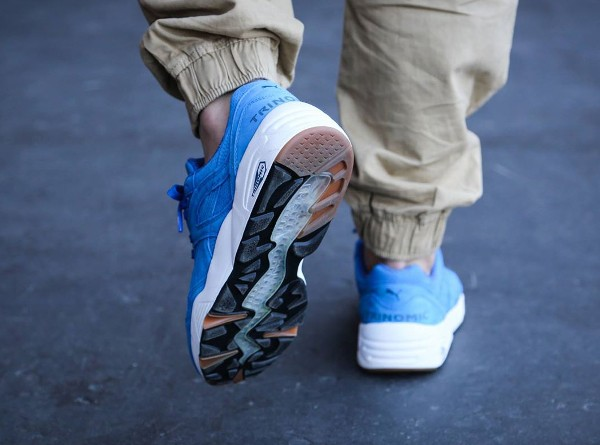 Puma R698 Perforated Strong Blue Whisper White (6)