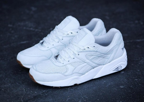 Puma R698 Perforated White Gum (1)