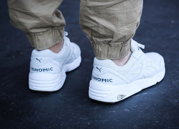 Puma R698 Perforated White Gum (4)
