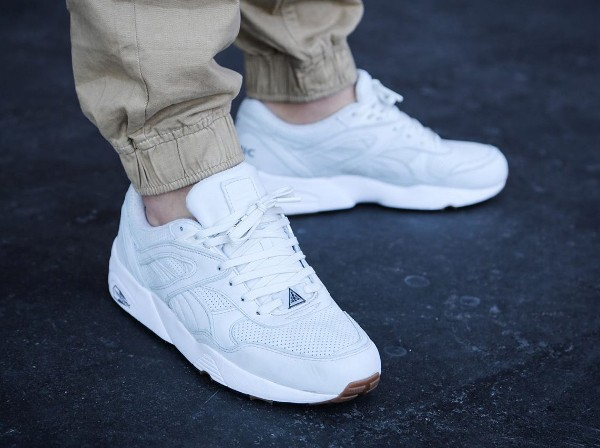 Puma R698 Perforated White Gum (5)
