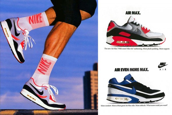 publicité vintage air max 90 infrared
