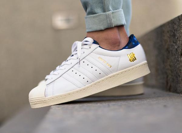 Adidas Consortium Superstar 80 Bape Undefeated White (4)