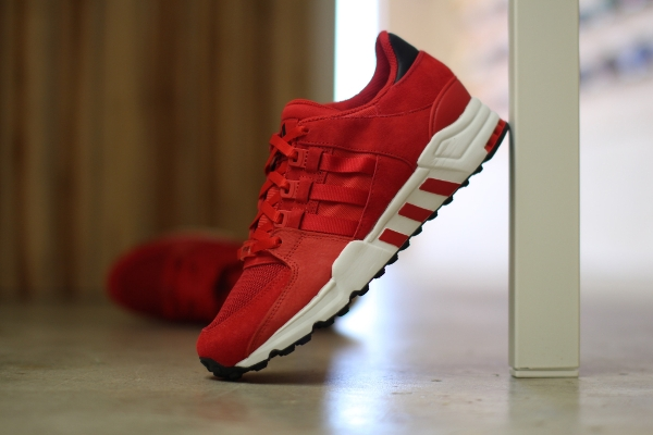 best website 709d2 54a47 Adidas EQT Running Support 93 Scarlet Red (rouge) (5)
