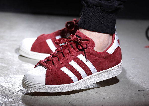 Adidas Superstar 80s DLX Suede Burgundy