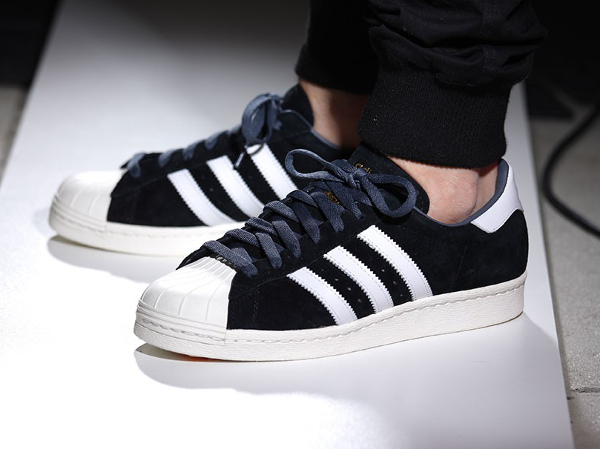 Adidas Superstar 80s DLX Suede Core Black